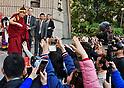 The 14th Dalai Lama attends talk event in Tokyo