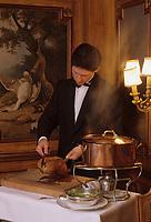 """Europe/France/Ile-de-France/Paris: """"BELLE EPOQUE"""" - Restaurant """"Lapérouse"""" 54 quai des Grands Augustins [Non destiné à un usage publicitaire - Not intended for an advertising use]<br /> PHOTO D'ARCHIVES // ARCHIVAL IMAGES<br /> FRANCE 1990"""