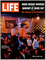 LIFE cover, Discotheque, May 27, 1966. Photo by John G. Zimmerman.
