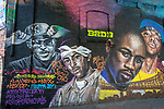 Rap Artists Mural, Santiago