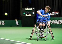 Februari 11, 2015, Netherlands, Rotterdam, Ahoy, ABN AMRO World Tennis Tournament, Alfie Hewett (GBR)<br /> Photo: Tennisimages/Henk Koster