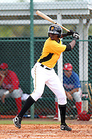 Pittsburgh Pirates outfielder Gregory Polanco #36 during an Instructional League game against the Philadelphia Phillies at Pirate City on October 11, 2011 in Bradenton, Florida.  (Mike Janes/Four Seam Images)