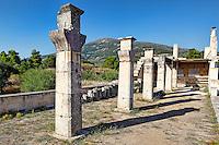 The Stoa of Abaton in Epidaurus (4th cent.  B.C.), Greece