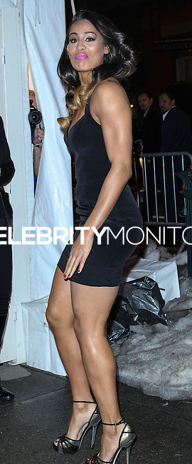 NEW YORK, NY - FEBRUARY 18: Skylar Diggins at the Sports Illustrated Swimsuit 50th Anniversary Party held at Swimsuit Beach House on February 18, 2014 in New York City. (Photo by Jeffery Duran/Celebrity Monitor)