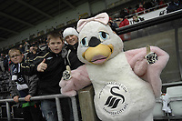 Pictured:<br /> Re: Coca Cola Championship, Swansea City Football Club v  Wolverhampton Wanderers at the Liberty Stadium, Swansea, south Wales 2008.