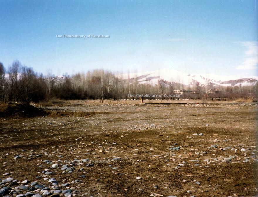 Iran 1961 View on the village of Ghassemlou<br /> Iran 1961 Vue sur le village de Ghassemlou