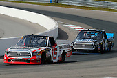 NASCAR Camping World Truck Series<br /> Chevrolet Silverado 250<br /> Canadian Tire Motorsport Park<br /> Bowmanville, ON CAN<br /> Sunday 3 September 2017<br /> Ryan Truex, Don Valley North Toyota / Weins Canada Toyota Tundra and Parker Kligerman, Food Country USA / Lopez Wealth Management Toyota Tundra <br /> World Copyright: Russell LaBounty<br /> LAT Images
