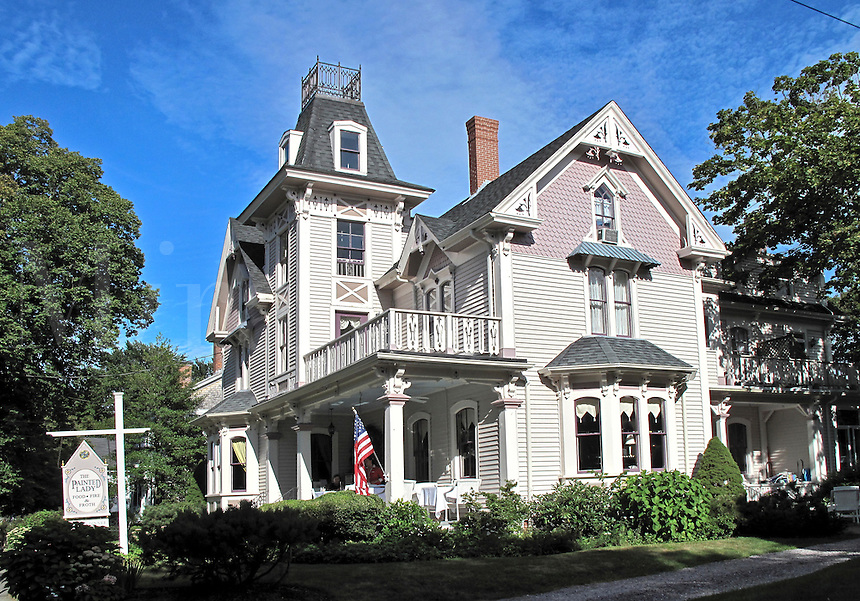 The Painted Lady restaurant, Sandwich, Cape Cod, MA