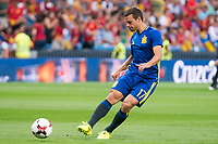 Spain's Hernan Perez during match between Spain and Italy to clasification to World Cup 2018 at Santiago Bernabeu Stadium in Madrid, Spain September 02, 2017. (ALTERPHOTOS/Borja B.Hojas)
