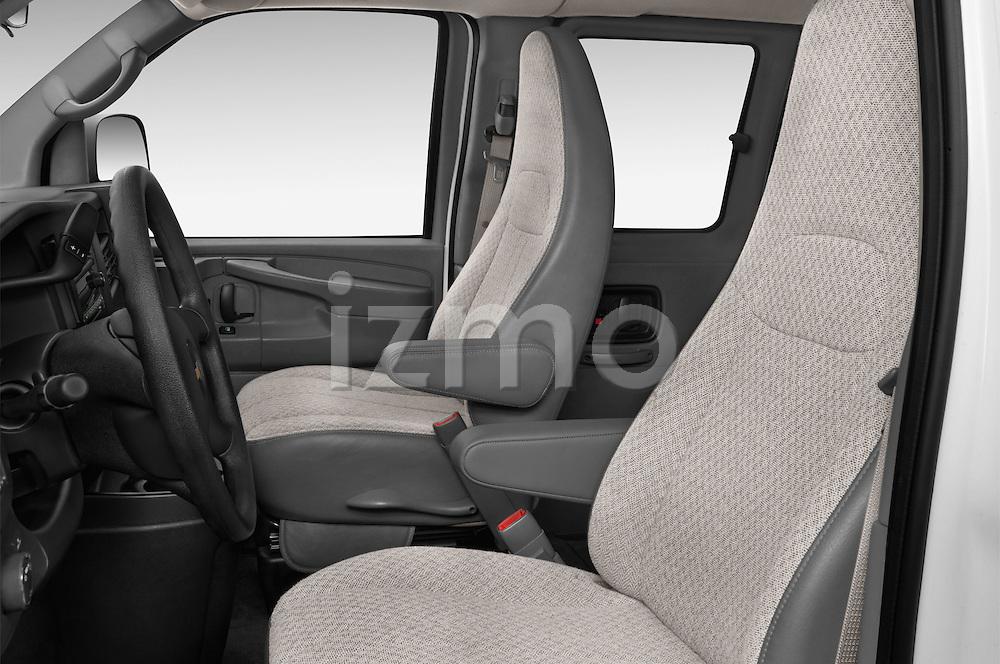 Front seat view of a 2014 Chevrolet Express 2500 LS 2 Door Van front seat car photos
