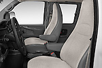 Front seat view of a 2014 Chevrolet Express 2500 LS 2 Door Van front seat car photos