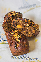 Europe/Allemagne/Bade-Würrtemberg/Forêt Noire/Bad Peterstal-Griesbach: Hutzeldrot - Pain traditionnel  de Noël de la boulangerie: Schmiedrer