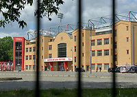 17th May 2020,Stadion An der Alten Försterei, Berlin, Germany; Bundesliga football, FC Union Berlin versus Bayern Munich; Stadium at the old Foersterei locked down and Only open for journalistic purposes