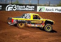 Apr 15, 2011; Surprise, AZ USA; LOORRS driver Jerry Daugherty during round 3 and 4 at Speedworld Off Road Park. Mandatory Credit: Mark J. Rebilas-.