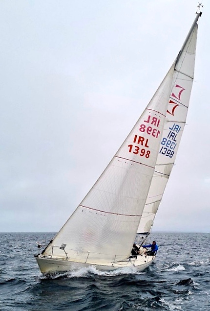 Mark Wilson's Sigma 33 Scorpio had a good season in Galway Bay, winning the Round Aran race in August and the Renville-Galway race which concluded the King of the Bay series.
