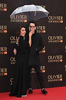 Anita Rani and Gok Wan<br /> arriving for the Olivier Awards 2019 at the Royal Albert Hall, London<br /> <br /> ©Ash Knotek  D3492  07/04/2019