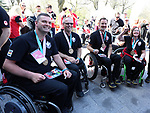 Marie Wright, Jamie Anseeuw, Dennis Thiessen, and Mark Ideson, PyeongChang 2018. <br />