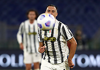 Football, Serie A: AS Roma - Juventus, Olympic stadium, Rome, September 27, 2020. <br /> Juventus' Aaron Ramsey in action during the Italian Serie A football match between Roma and Juventus at Olympic stadium in Rome, on September 27, 2020. <br /> UPDATE IMAGES PRESS/Isabella Bonotto