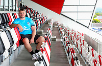 23rd September 2019   Ulster Match Briefing<br /> <br /> Ulster Rugby's new signing Jack McGrath during the Ulster Rugby Match Briefing ahead of Ulster's opening PRO14 League clash against the Ospreys at Kingspan Stadium on Friday. Photo by John Dickson / DICKSONDIGITAL
