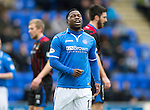St Johnstone v Inverness Caledonian Thistle....22.02.14    SPFL<br /> Nigel Hasselbaaink reacts to another missed chance<br /> Picture by Graeme Hart.<br /> Copyright Perthshire Picture Agency<br /> Tel: 01738 623350  Mobile: 07990 594431