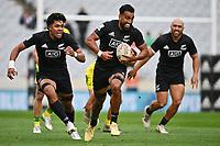 22nd May 2021; Eden Park, Auckland New Zealand; All Blacks Sevens versus Australia, Trans-Tasman Sevens;  Amanaki Nicole (nzl) open field run