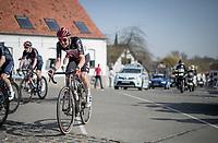 Tim Wellens (BEL/Lotto-Soudal)<br /> <br /> 76th Dwars door Vlaanderen 2021 (MEN1.UWT)<br /> 1 day race from Roeselare to Waregem (184km)<br /> <br /> ©kramon
