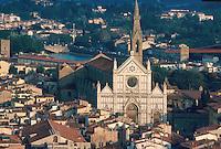 - Florence, town panorama with the S.Croce church....- Firenze, panorama della città con la chiesa di S.Croce..
