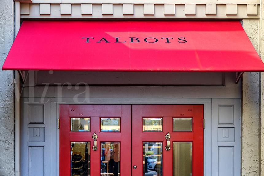 Talbots upscale women's clothing store, Winter Park, Florida, USA.