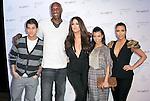 "Rob Kardashian,Lamar Odom,Khloe Kardashian Odom,Kourtney Kardashian and Kim Kardashian at The Fragrance Launch event for ""Unbreakable by Khloe + Lamar"" held at The Redbury Hotel in Hollywood, California on April 04,2011                                                                               © 2010 Hollywood Press Agency"