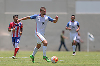 Bayamón, Puerto Rico - May 22, 2016: The USMNT take a 2-1 lead over Puerto Rico in second half action during a warm up friendly match at Juan Ramón Loubriel Stadium.