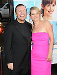 Ricky Gervais & wife at The Warner Brothers U.S. Premiere of The Invention of Lying held at The Grauman's Chinese Theatre in Hollywood, California on September 21,2009                                                                   Copyright 2009 DVS / RockinExposures
