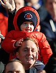 A young Rangers fan