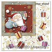 Simonetta, NAPKINS, SERVIETTEN, SERVILLETAS, Christmas Santa, Snowman, Weihnachtsmänner, Schneemänner, Papá Noel, muñecos de nieve, paintings+++++,ITDPT0001,#sv#,#x#