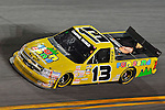 Feb 13, 2009; 8:29:20 PM; Daytona Beach, FL, USA; NASCAR Camping World Truck Series race of the NextEra Energy Resources 250 at Daytona International Speedway.  Mandatory Credit: (thesportswire.net)