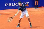 24th April 2019, Real Club de Tenis, Barcelona, Spain; ATP 500, Barcelona Open Banc Sabadell, day 3; picture show Leonardo ayer (ARG) v Rafael Nadal (ESP)