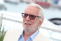 DONALD SUTHERLAND - PHOTOCALL OF THE JURY AT THE 69TH FESTIVAL OF CANNES 2016
