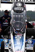 27th September 2020, Gainsville, Florida, USA;  Top Fuel driver Antron Brown (123)  Matco Tools during the 51st annual Amalie Motor Oil NHRA Gatornationals