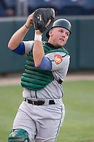 August 4, 2009: Boise Hawks catcher Matt Williams during a Northwest League game against the Everett AquaSox at Everett Memorial Stadium in Everett, Washington.