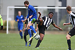 NELSON, NEW ZEALAND - SEPTEMBER 14:  MPL Playoff 2019 FC Nelson V CHCH United FC on September 14 at Guppy Park 2019 in Nelson, New Zealand. (Photo by: Evan Barnes Shuttersport Limited)