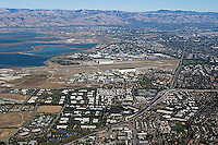 aerial photograph Mountain View, Santa Clara county, California