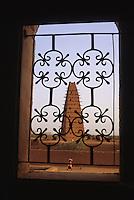 The Mosque of Agadez, Niger.  Originally built 1515, re-built 1844.