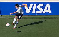 Sacha Kljestan kicks the ball. The USA defeated China, 4-1, in an international friendly at Spartan Stadium, San Jose, CA on June 2, 2007.