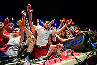 Girl Talk (Gregg Gillis) performing at The Pageant in Saint Louis on Jan 8, 2009.