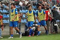 AUswechselspieler von Hoffenheim<br /> TSG 1899 Hoffenheim vs. Galatasaray Istanbul, Carl-Benz Stadion Mannheim<br /> *** Local Caption *** Foto ist honorarpflichtig! zzgl. gesetzl. MwSt. Auf Anfrage in hoeherer Qualitaet/Aufloesung. Belegexemplar an: Marc Schueler, Am Ziegelfalltor 4, 64625 Bensheim, Tel. +49 (0) 6251 86 96 134, www.gameday-mediaservices.de. Email: marc.schueler@gameday-mediaservices.de, Bankverbindung: Volksbank Bergstrasse, Kto.: 151297, BLZ: 50960101