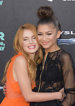 Zendaya Coleman and Bella Thorne attends The Disney World Premiere of Alexander and the Terrible,Horrible,No Good, Very Bad held at The El Capitan  in Hollywood, California on October 06,2014                                                                               © 2014 Hollywood Press Agency