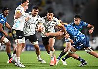 3rd April 2021; Eden Park, Auckland, New Zealand;  Hurricanes winger Salesi Rayasi.<br /> Blues v Hurricanes Super Rugby Aotearoa. Eden Park, Auckland. New Zealand.