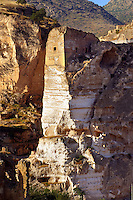 Ruins of the Ayyubids Small Palace in the citadel of ancient Hasankeyf overlooking the Tigris River. Turkey 11