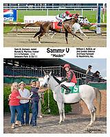 Sammy V winning at Delaware Park on 5/25/11