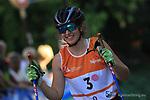 Merle RICHTER at FIS Sprint Rollerski World Cup in Trento © Pierre Teyssot<br /> www.staminarollerski.com
