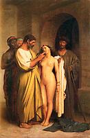 Achat d'une esclave par<br /> <br /> Jean-Leon Gerome
